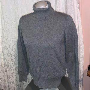 H&M turtle neck sweater grey